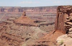 положение Юта пункта парка мертвой лошади Стоковая Фотография
