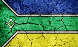 Положение Amapa, положение Бразилии, флага Стоковые Изображения
