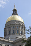 положение Georgia купола капитолия Стоковая Фотография RF
