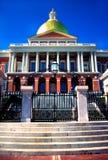 положение massachusetts дома boston стоковое фото
