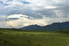 положение patagonia парка озера Стоковое Изображение RF