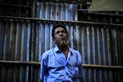 ПОЛОЖЕНИЕ RAKHINE, МЬЯНМА - 5-ОЕ НОЯБРЯ: Сотни мусульман Rohingya страдают строгое недоедание в переполненных лагерях в Myanm Стоковые Изображения RF