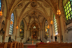 положение stockholm собора Стоковое Изображение