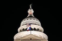 положение texas капитолия здания Стоковые Изображения RF