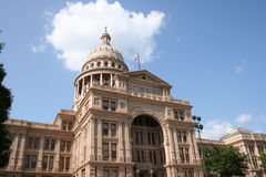 положение texas капитолия здания austin городское Стоковые Фото