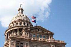 положение texas капитолия здания austin городское Стоковые Изображения