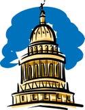 положение texas капитолия здания austin Бесплатная Иллюстрация
