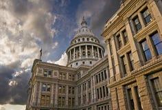 положение texas капитолия Стоковое Изображение RF