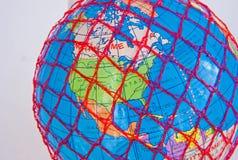 положения америки соединили мир сети широкий Стоковая Фотография RF