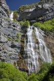 положения соединили водопад западный стоковая фотография