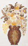 положенные цветки Стоковое фото RF