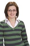 положительная женщина Стоковые Фотографии RF