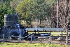 Положительный знак к Canyonville, Орегону Стоковые Изображения RF