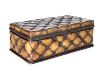 положите богато украшенный древесину в коробку Стоковые Фото