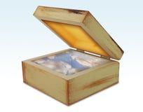 положите волшебство в коробку Стоковые Изображения