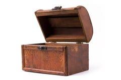 положите древесину в коробку Стоковое Изображение