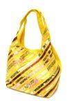 положите желтый цвет в мешки Стоковая Фотография RF
