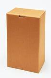 положите картон в коробку Стоковое фото RF