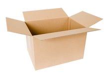 положите картон в коробку Стоковые Изображения RF