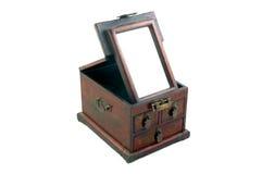 положите китайский состав в коробку косметик Стоковое Изображение