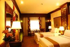 положите комнату в постель Стоковые Изображения
