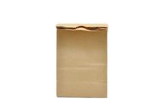 положите коричневый цвет в мешки Стоковое Изображение