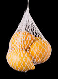 положите лимоны в мешки Стоковые Изображения