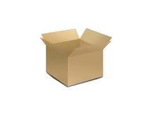 положите открытое в коробку Стоковая Фотография