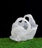 положите пластмассу в мешки Стоковое фото RF