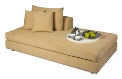положите софу в постель Стоковое фото RF