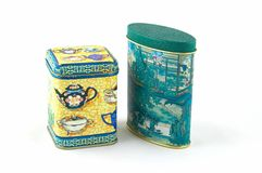 положите чай в коробку стоковые изображения rf