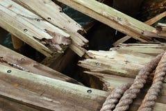 поломанная древесина Стоковые Изображения