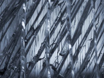 поломанное стекло стоковое изображение