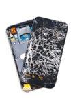 поломанный сотовый телефон Стоковые Фотографии RF
