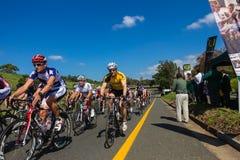 Полоса нот велосипедистов гонки   Стоковое Изображение