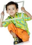 полость рамки мальчика Стоковые Изображения RF