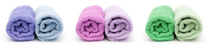 полотенца ванны Стоковые Изображения RF