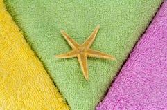 полотенца звезды моря Стоковые Фотографии RF