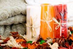 полотенца мыла potpourri Стоковые Изображения RF