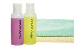 полотенца продуктов волос внимательности Стоковое Фото