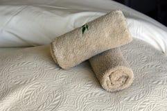 полотенца спы Стоковая Фотография RF