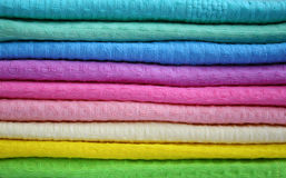 полотенца цвета Стоковое фото RF