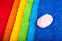 полотенца terry цвета Стоковые Изображения RF