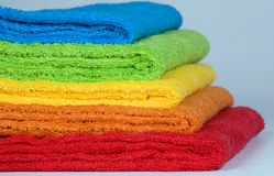 полотенца terry цвета Стоковые Изображения