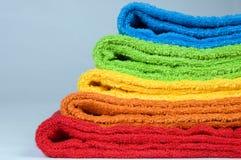 полотенца terry цвета Стоковое Изображение RF