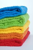 полотенца terry цвета Стоковая Фотография RF