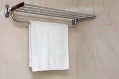 полотенце вешалки Стоковое Изображение RF