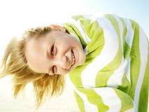 полотенце девушки Стоковые Изображения RF