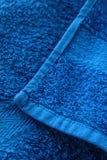 полотенце красотки голубое мягкое Стоковое фото RF