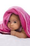 полотенце младенца стоковое изображение rf